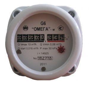 Счетчик газа Омега G-6