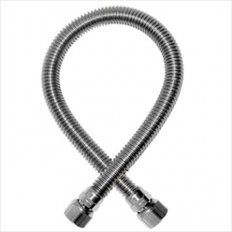 Шланг газовый сильфонный (гайка-штуцер 1/2 дюйма) 1,2 метра