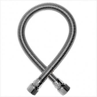 Шланг газовый сильфонный (гайка-штуцер 1/2 дюйма) 2,5 метра