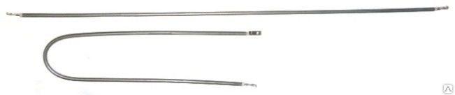 ТЭН гибкий сухой 1000Вт. Ø 6,5 мм. L-1050 мм –  нерж.    контакты под винт М4