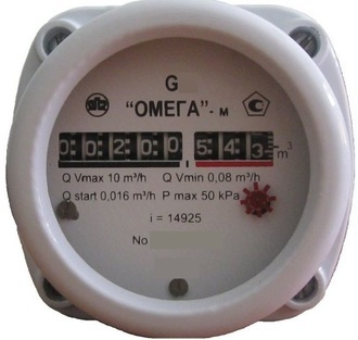 Счетчик газа Омега G-2.5