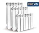 Радиатор HotStar RA-01 500/80 (7 сек.) алюм. для индив-го отопления