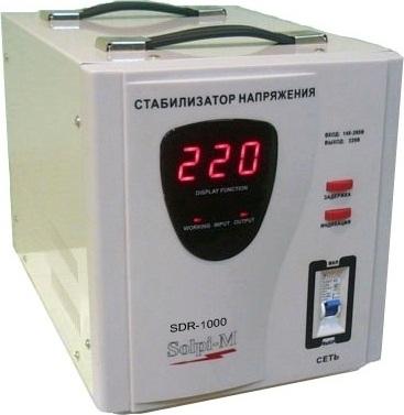 Стабилизатор напряжения Solpi-M sdr -1000va