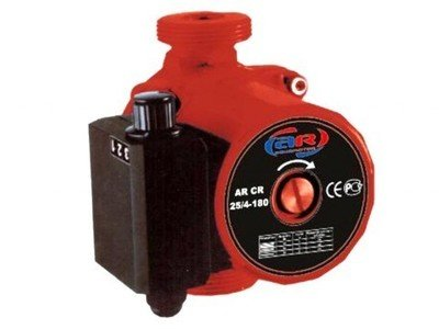 Насос циркуляционный AquamotoR AR CR 25/6-180 red