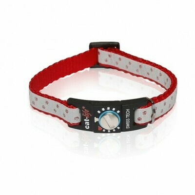 Cat-life Katzenhalsband reflektierend Diamant rot