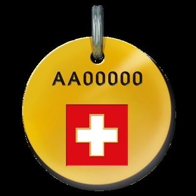 STMZ Tierfindermarke für Hunde, Schweiz