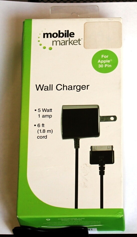 Apple 30-pin wall charger