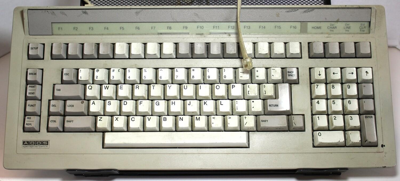 ADDS ASCII terminal Keyboard