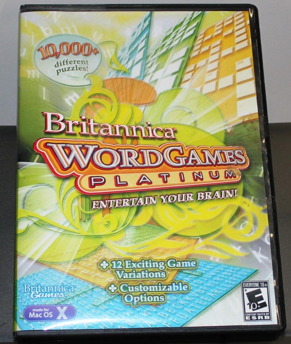 Britannica Word Games Platinum