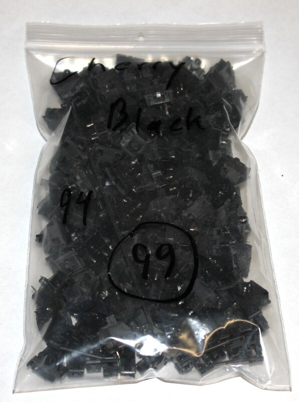Cherry MX Black Switches from 1994