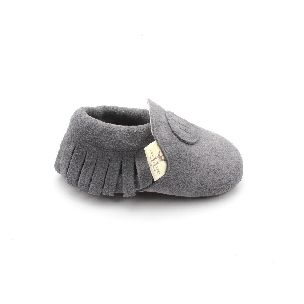 Classic Moccasins  - Grey (SUEDE)