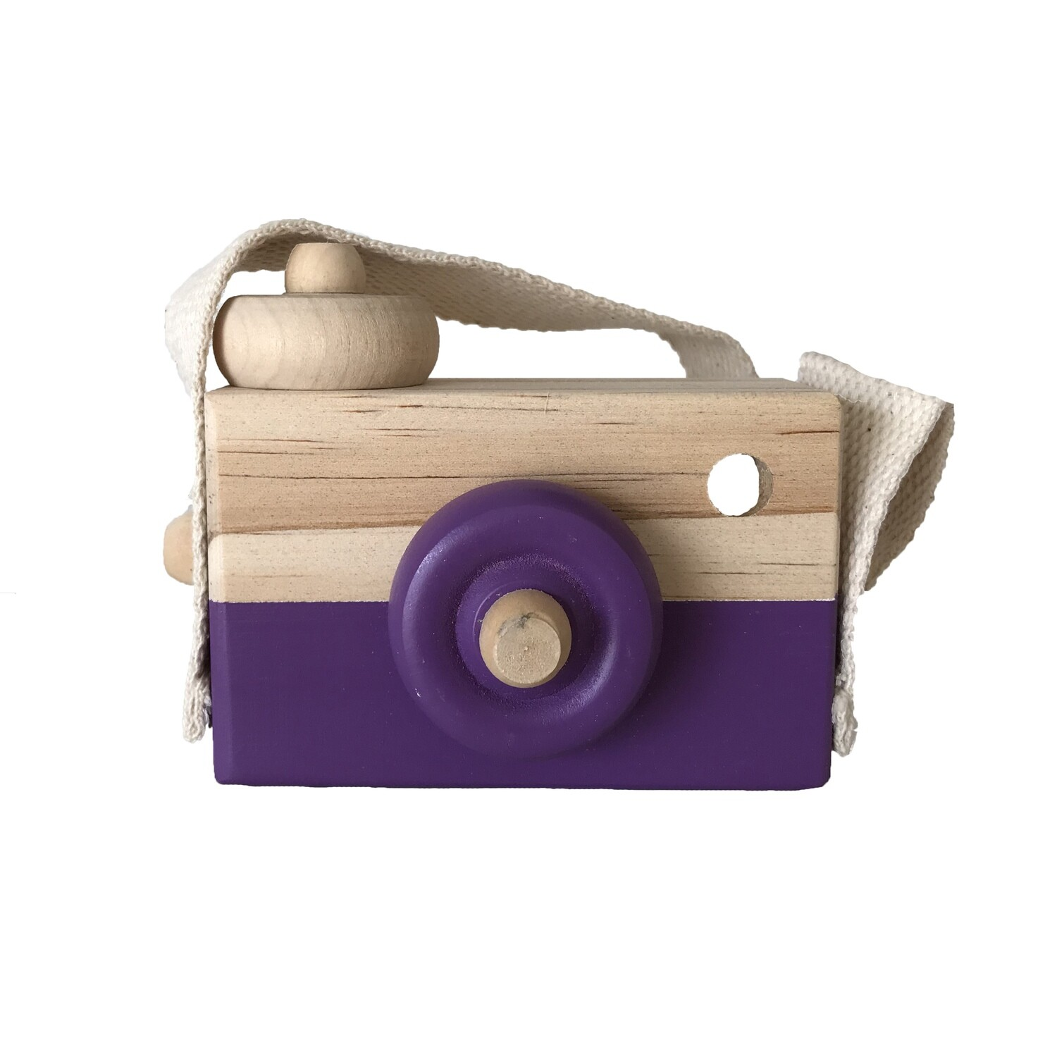 Baby Toy Wooden Camera
