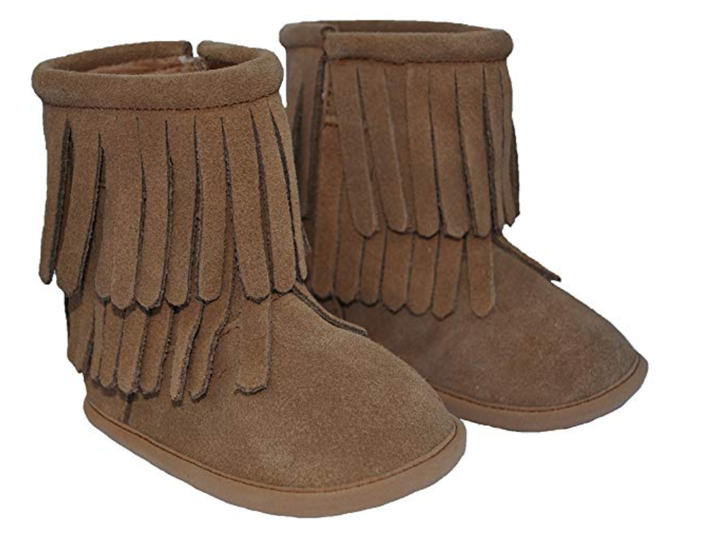 Moccasins Boots - Brown