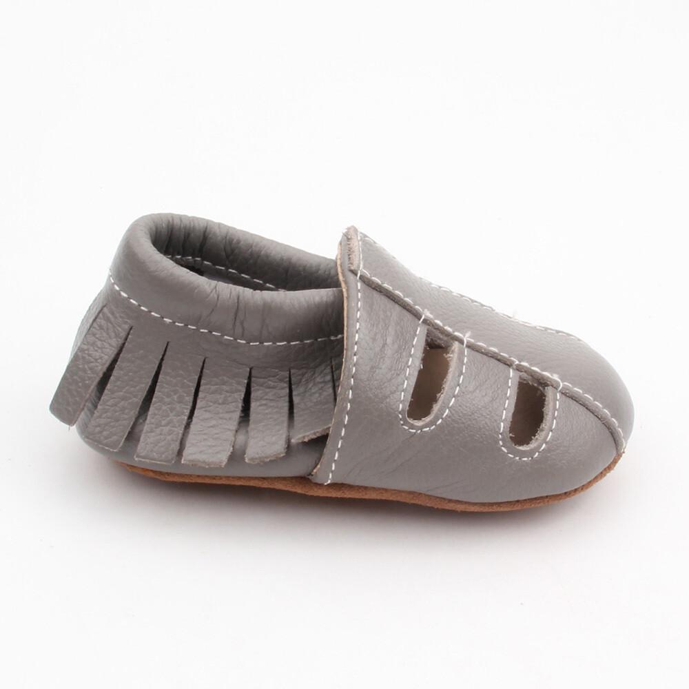 Sandal Moccasins - Grey