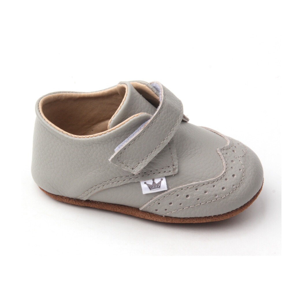 Oxford Ankle Bootie - Grey