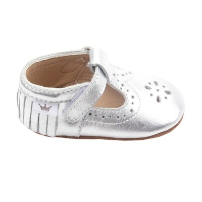Moccasins T-Bars - Silver