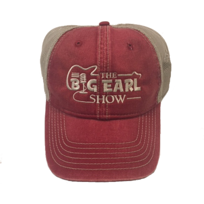 Big Earl Unstructured Hat - Washed Red