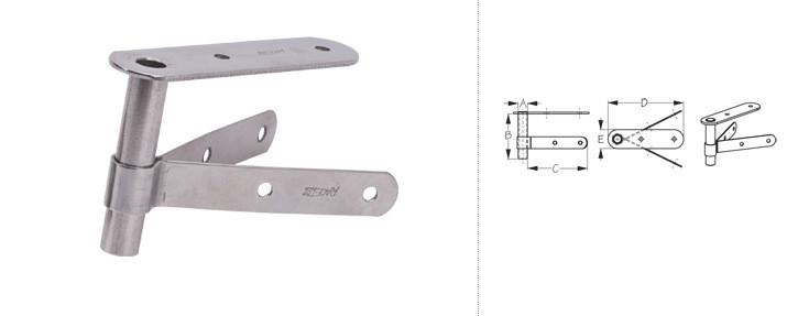 Rudder mounting bracket