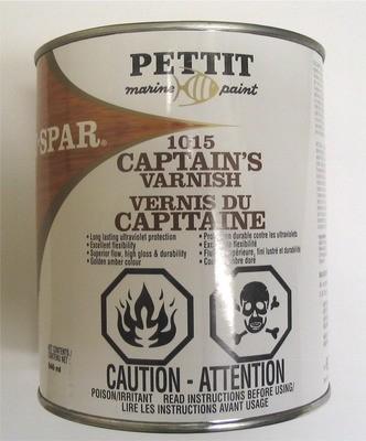 Captains high gloss varnish