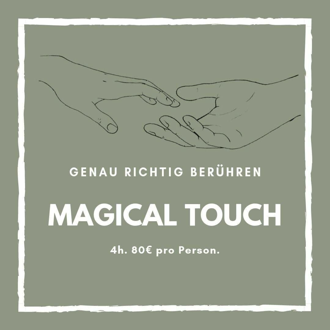 4h Magical Touch Workshop für Einzelpersonen & Paare