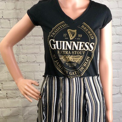 Guiness Dress Recycled Tshirt