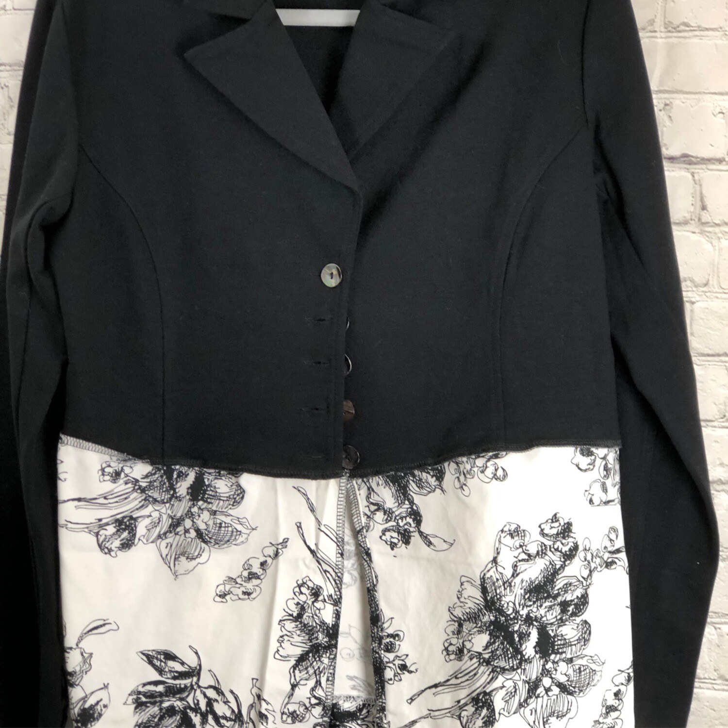 Recycled Stretch Jacket W Floral Print