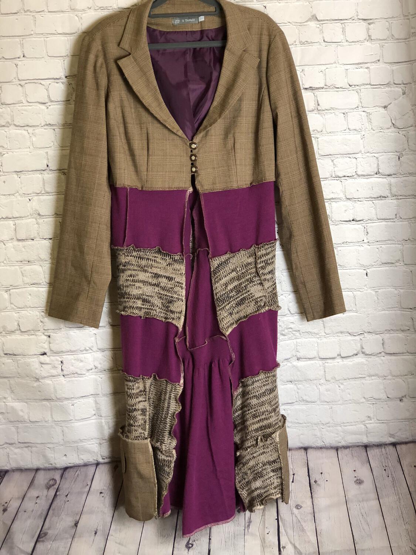 Jacket With Layers AKA Jayer Brown Purple