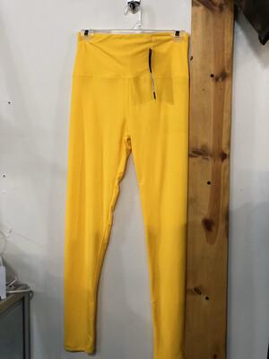 Yellow Butter Soft OS Leggings