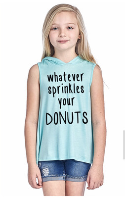 Child Top Color Bear whatever donuts