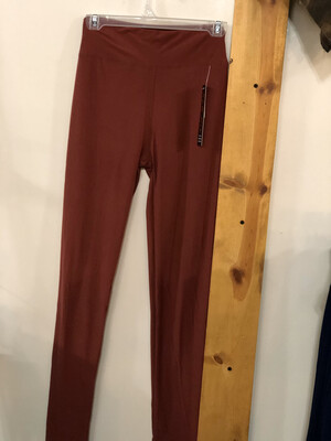 Leggings Marsala Solid Color One Size