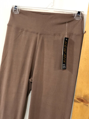 Leggings Mocha Solid Color One Size