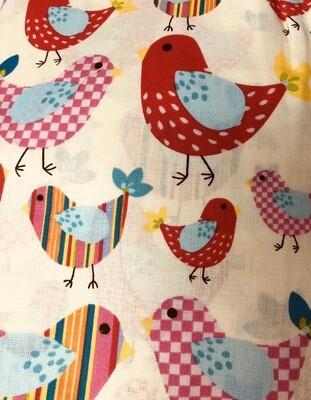 Spring Chicks Fabric Handmade Face Mask