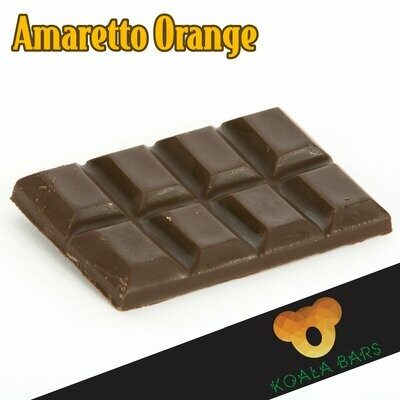 500MG Broad Spectrum Chocolate Bar - Amaretto Orange