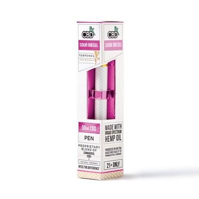 50mg Broad Spectrum Sour Diesel Terpenes Pen