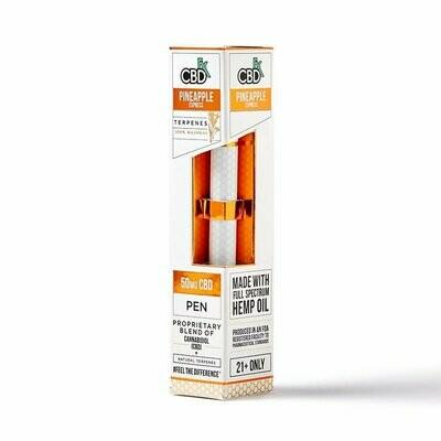 50mg Broad Spectrum Pineapple Express Terpenes Pen