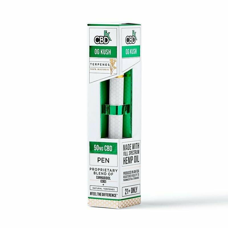 50mg Broad Spectrum OG Kush Terpenes Pen