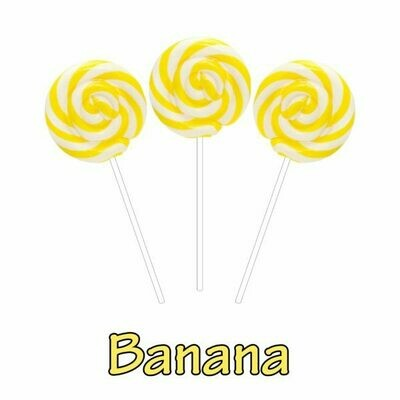 INFUSIONZ 50mg Broad Spectrum Banana Swirl Lollipop