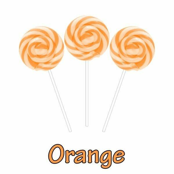 INFUSIONZ 50mg Broad Spectrum Orange Swirl Lollipop