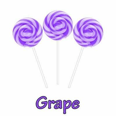 INFUSIONZ 50mg Broad Spectrum Grape Swirl Lollipop