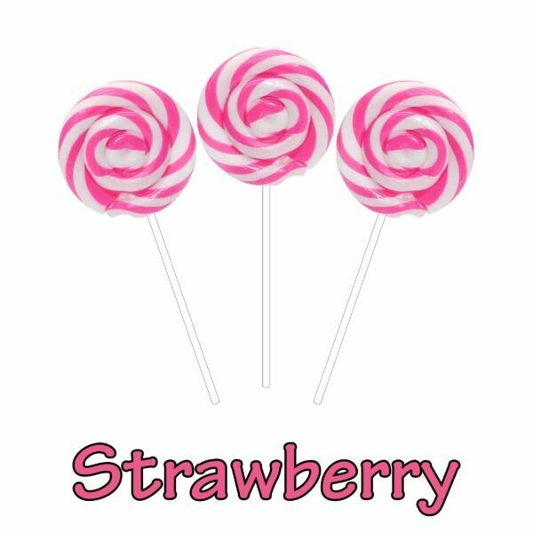 INFUSIONZ 50mg Broad Spectrum Strawberry Swirl Lollipop