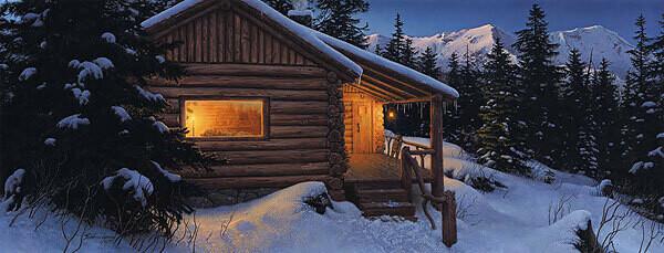 Wilderness Welcome - Log Cabin