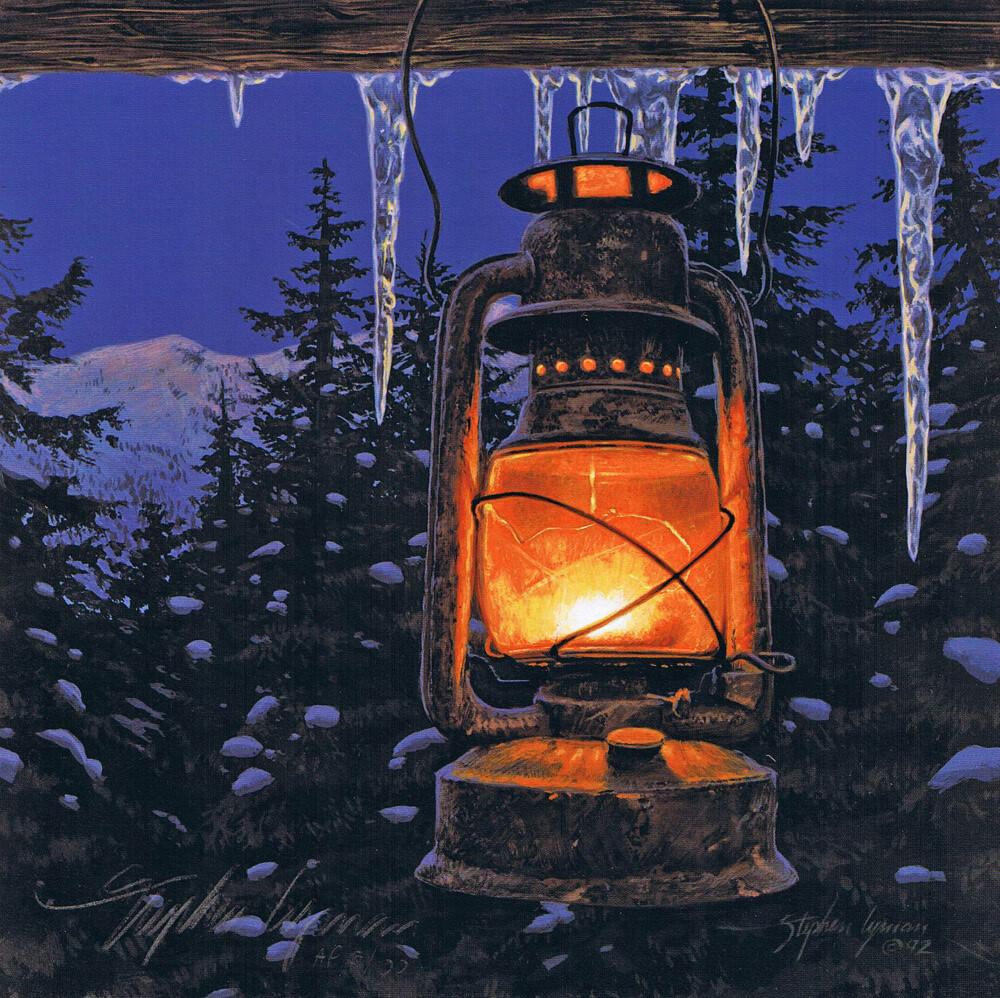 Lantern Light with Firelight Chapbook