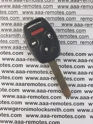 08 to 2012 Honda Accord key