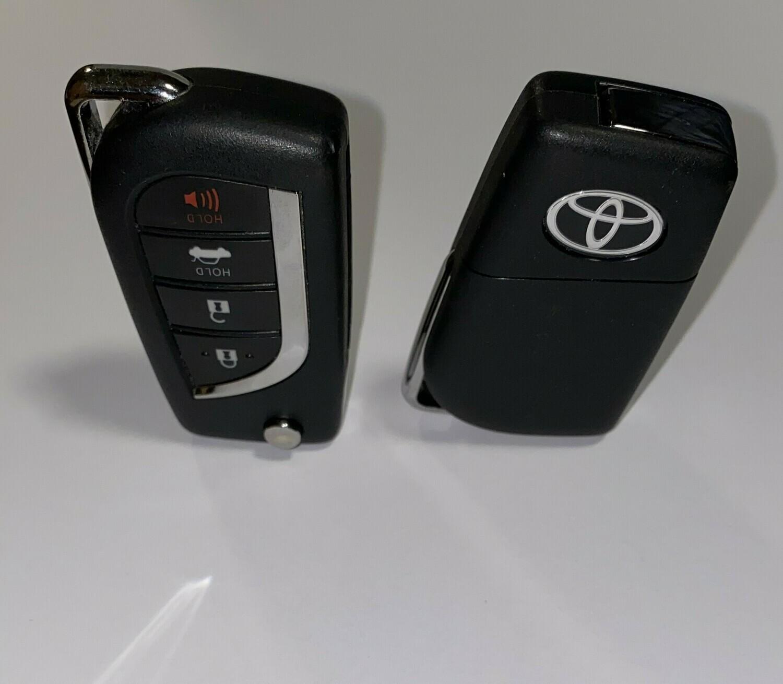 2018-2019 Toyota Camry  flip Key
