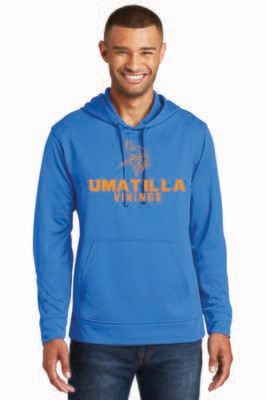 Men's performance Hoodie Umatilla Vikings