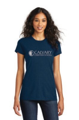 Women's Fitted Concert Tee Calvary Christian School