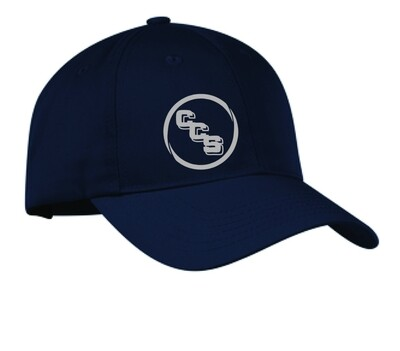 Youth size panel unstructured twill cap Calvary Christian School
