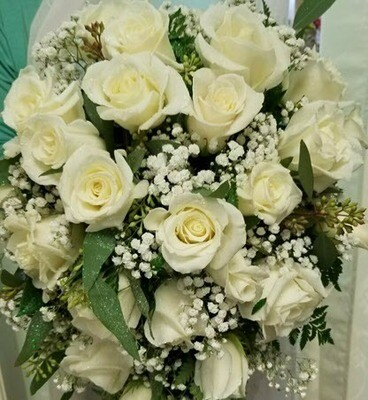 Cascading Bridal Bouquet