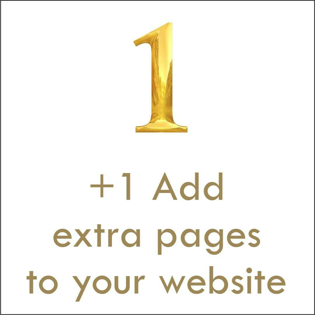 Website Add Extra Page