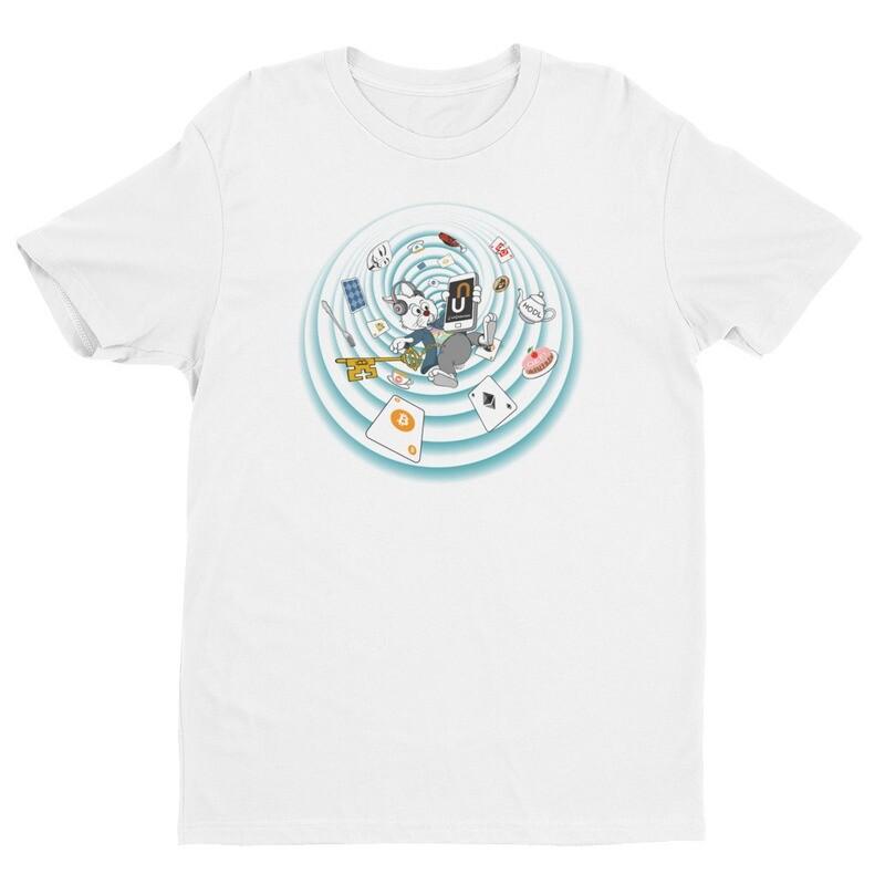 The Crypto Rabbit Hole T-Shirt -- White